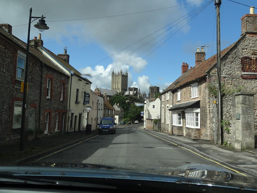 Wells Cathedral & Blue Sky!