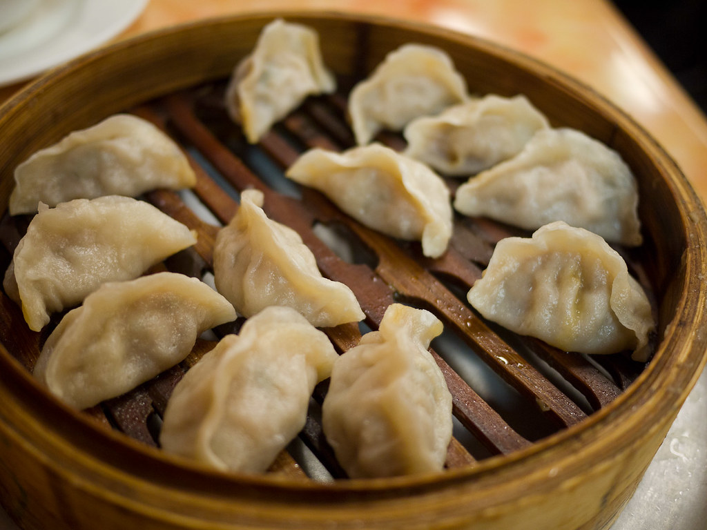 Pork and Chinese cabbage steamed dumplings (AU$11) - a photo on ...