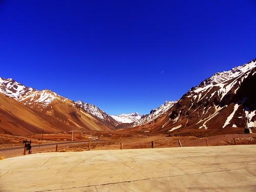 snow argentina montain