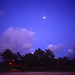 Moon over Hanalei