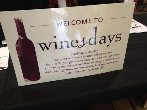 Wednesdays Are 'Winesdays' @ Whole Foods Market Old Town