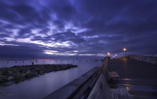 sky sunrise bay pier maryland northbeach boardwalk chesapeake calvert chesapeakebay calvertcounty