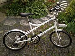 ルイガノの自転車。