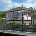 Small photo of Signal Box at Settle Station