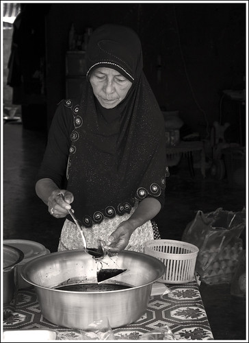 Lady at Koh Yao Noi island