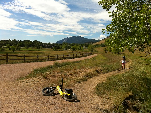 West shore - Biking at Wonderland Lake, Boulder, CO