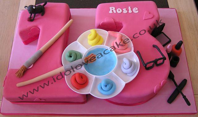 Number 13 Cake | Flickr - Photo - 87.4KB
