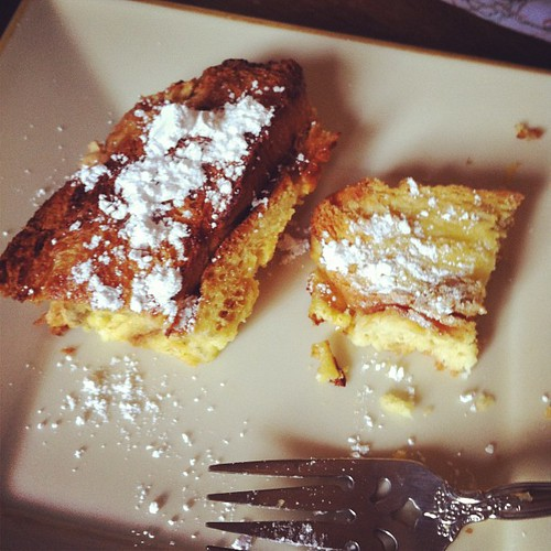 Birthday Baked French Toast!