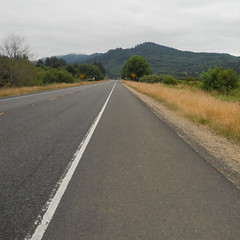 A familiar stretch of highway 101