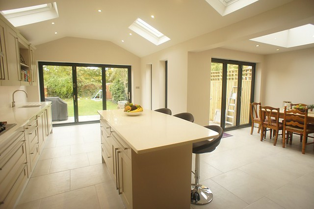 kitchen extension with kitchen island flickr photo white gloss lacquer kitchen island
