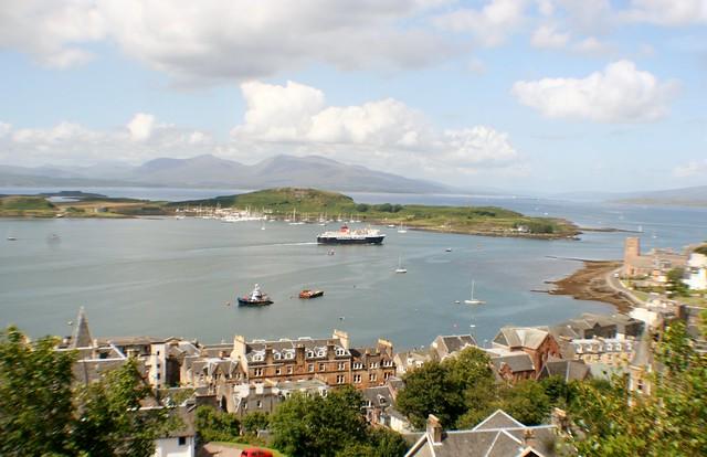 Oban Harbour, Argyll