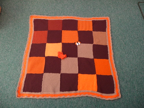 Thanks to everyone that sent in squares for this blanket. Thanks Sally for assembling!