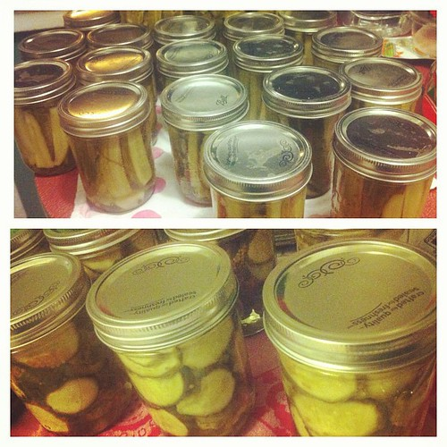 a million jars of pickles