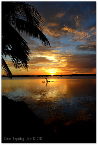 sunset kayaking tavernier southernflorida coconutpalminn