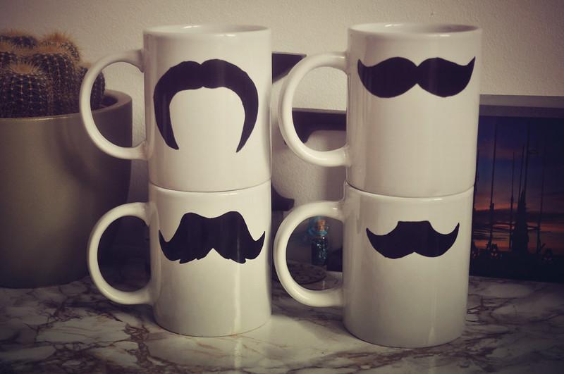 moustache mug diy 1
