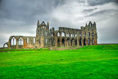 Whitby Abbey from the outside