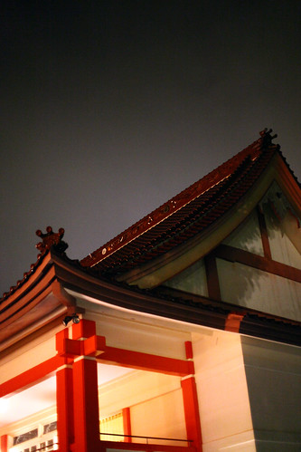 Koganji Temple at Night