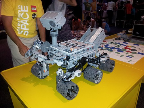 Lego Mindstorms Mars Curiosity Rover Lego Technic And Model Team