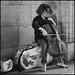 Le violoncelliste * Paris