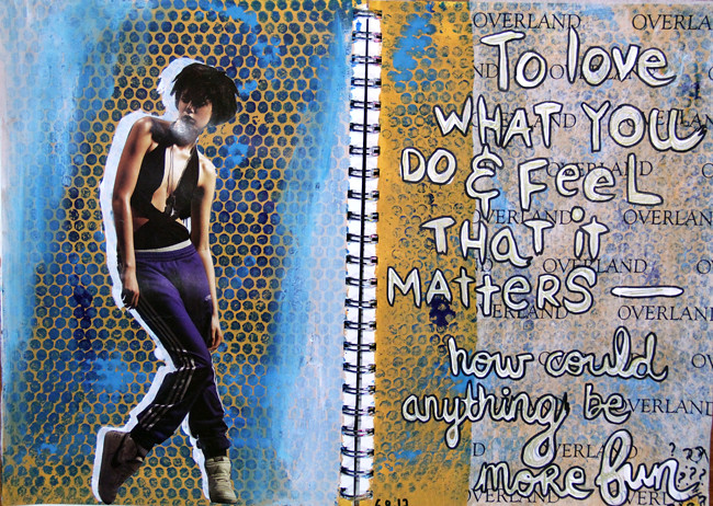 Art Journal Page #8