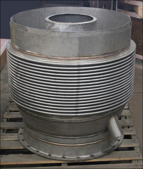 Quot i d custom turbine expansion joint