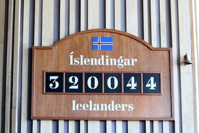 Icelandic population
