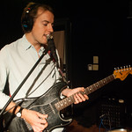 Bombay Bicycle Club perform live on 7.30.12 in WFUV's Studio A. photo by Erica Talbott
