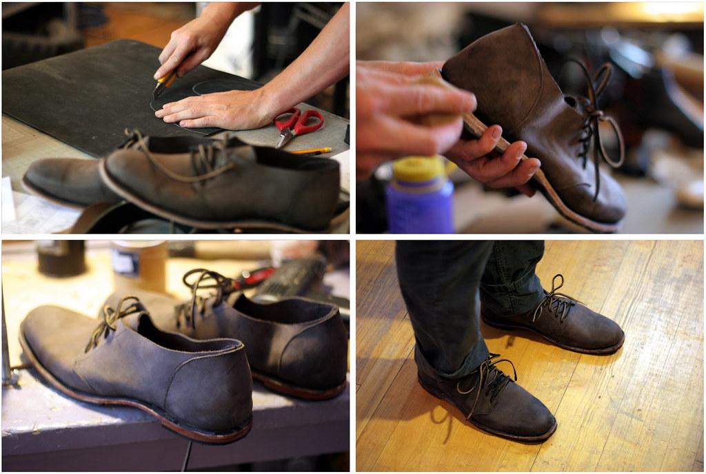 Arie's handmade shoes