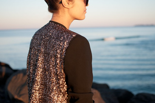diy sequin blazer 3