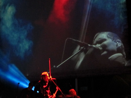 Jónsi on the giant screen