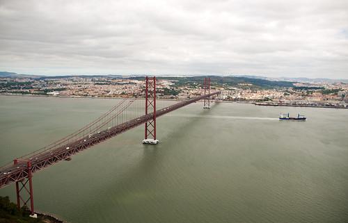 Ponte 25 de Abril, Lisboa by treboada