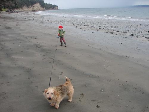 August beach