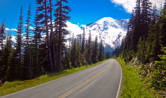 Road to Rainier