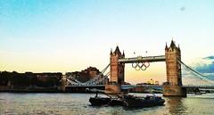 [Free Images] Architecture, Bridges, Tower Bridge, Landscape - United Kingdom, United Kingdom - London, Olympic Games, London 2012 Summer Olympics ID:201208141600