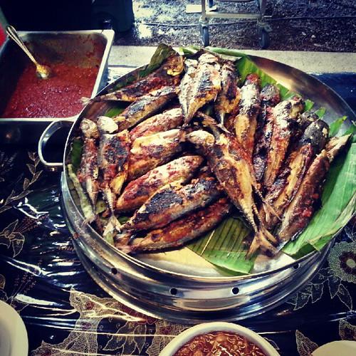 Ikan bakar. Aiyo yummeh