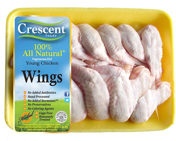 Crescent Wings Tray