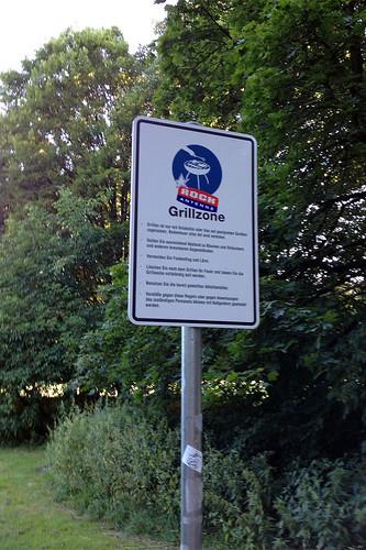 Grillzone - Hirschgarten