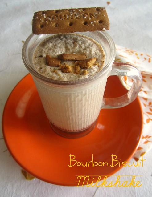 Bourbon Biscuit Milkshake