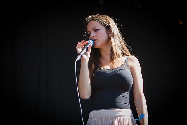 Siri Nilsen på Øyafestivalen