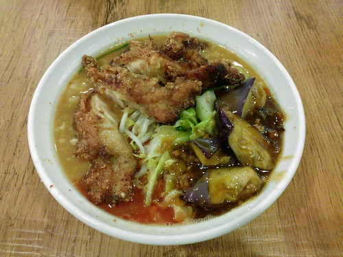 Takanotsume Ramen Deluxe with Sichuan Style Sauce