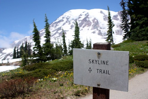 Hiking the Nature Trails around Paradise at Mt Rainier