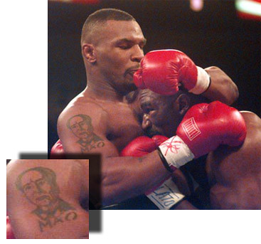 mike tyson mao tattoo