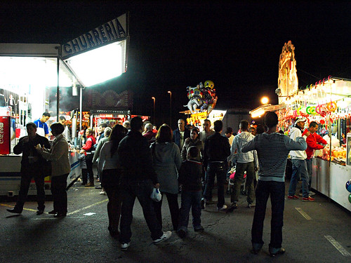 Churreria at Tenerife Funfair