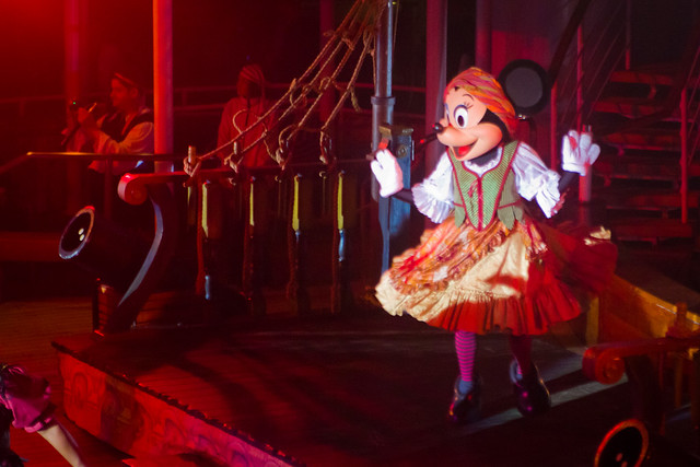 Minnie does Flashdance