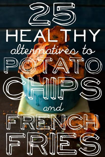 Alternatives to potato chips