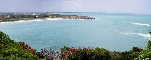 Basham Beach panorama by gomagoti