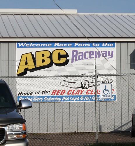 8.11.12 ABC Raceway - Sign 2