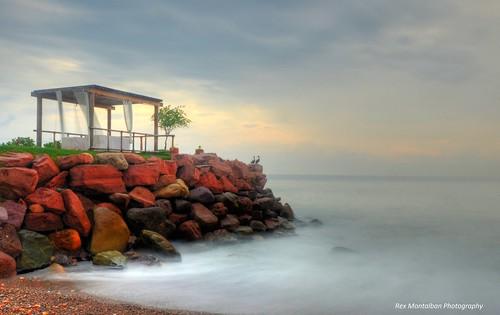 longexposure sunrise massage slowshutter puertovallarta sheraton vacationclub sheratonbuganvilias rexmontalbanphotography