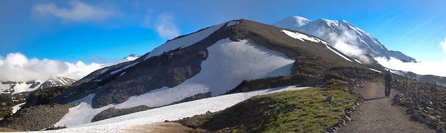 Frozen Lake Trail Vista (pano)