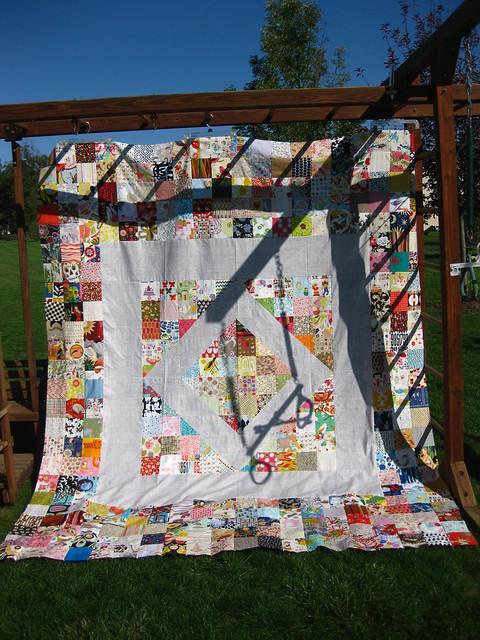 My Alexander Henry 'precious' quilt top